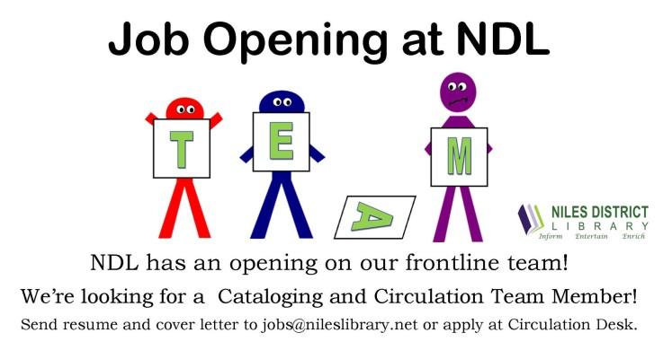 Circ Job Opening
