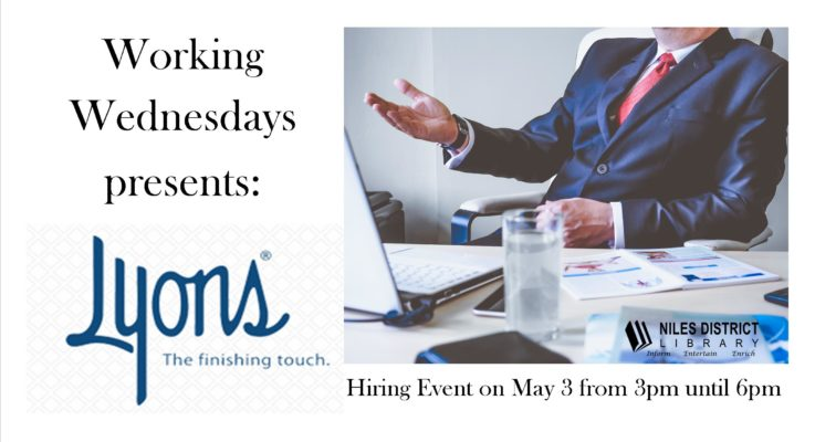 Lyons Hiring Event