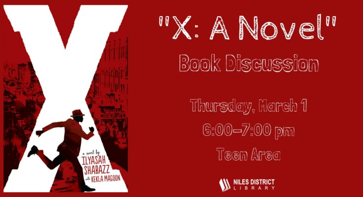 X: a Novel Book Discussion