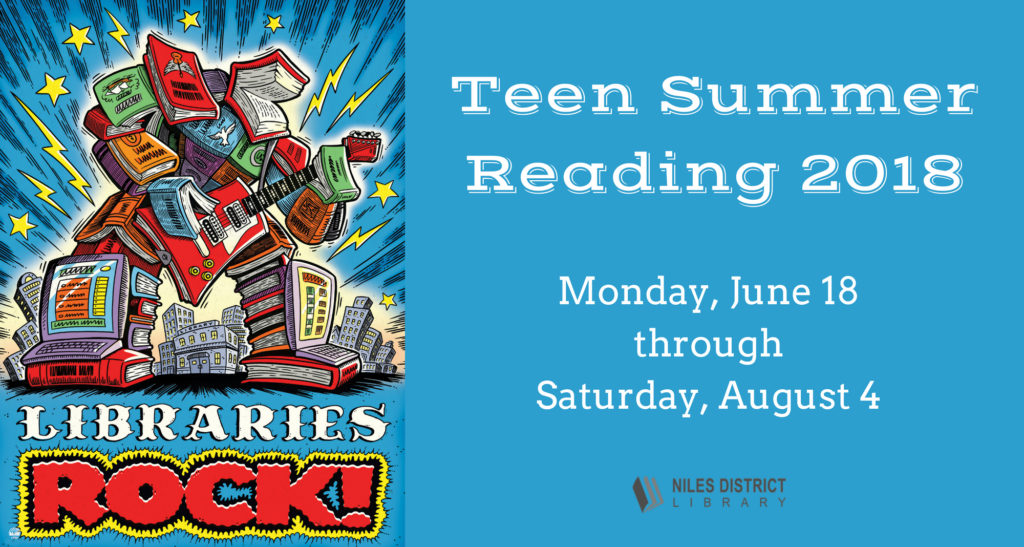 Have thought Library teen summer reading program join